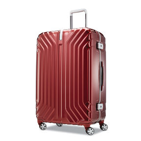 "Samsonite Tru-Frame 28"" Spinner in the color Dark Red."