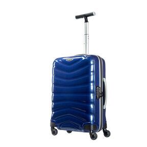 "Samsonite Firelite 20"" Spinner in the color Deep Blue."