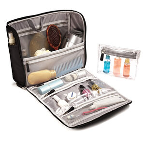 Large Toiletry Kit in the color Black.