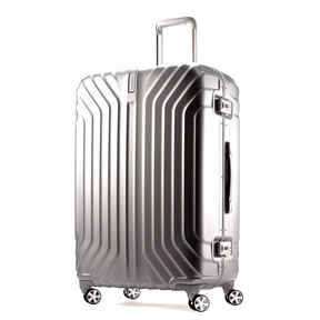 "Samsonite Tru-Frame 28"" Spinner in the color Matte Silver."