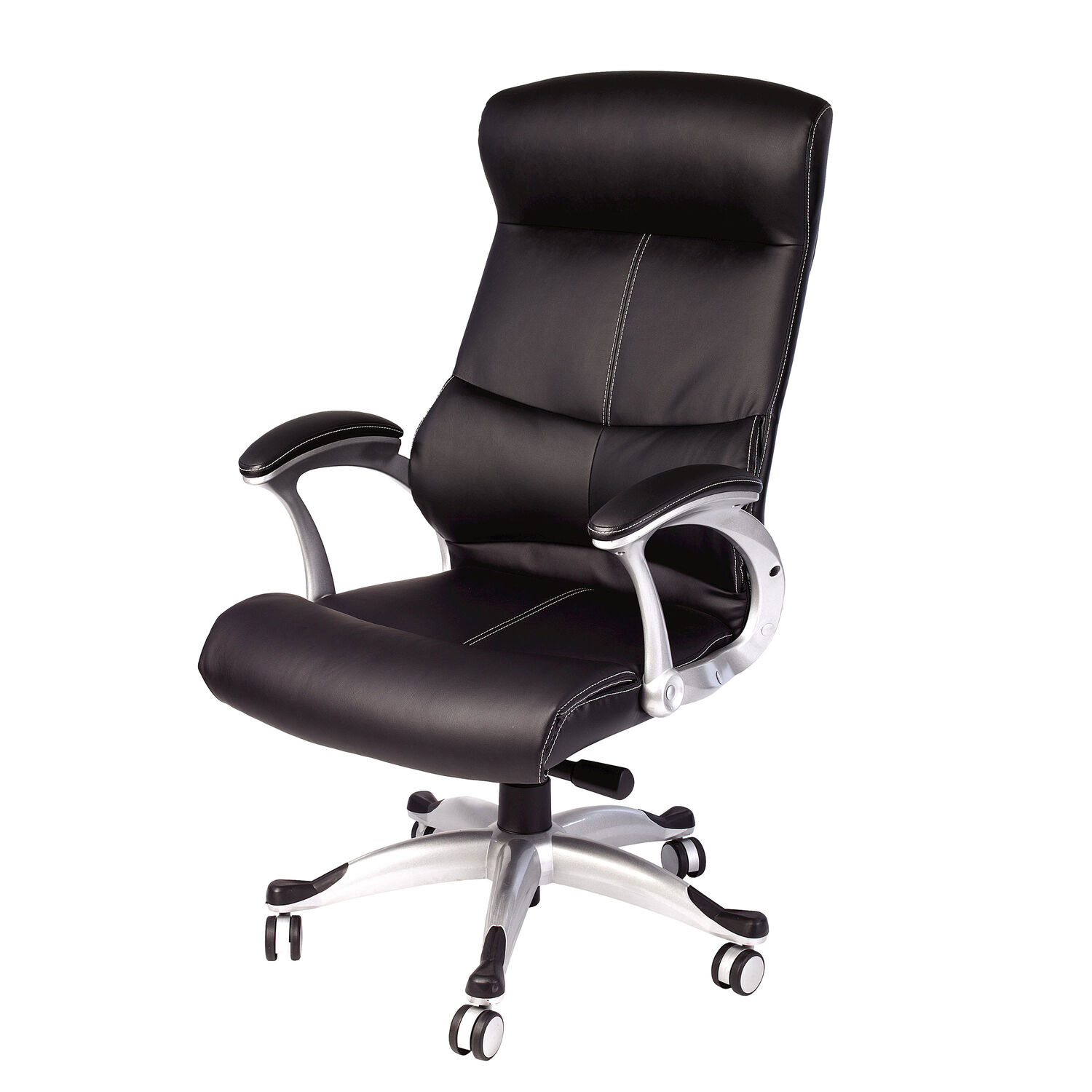 office leather chair. Samsonite Singapore Premium Bonded Leather Chair In The Color Black. Office