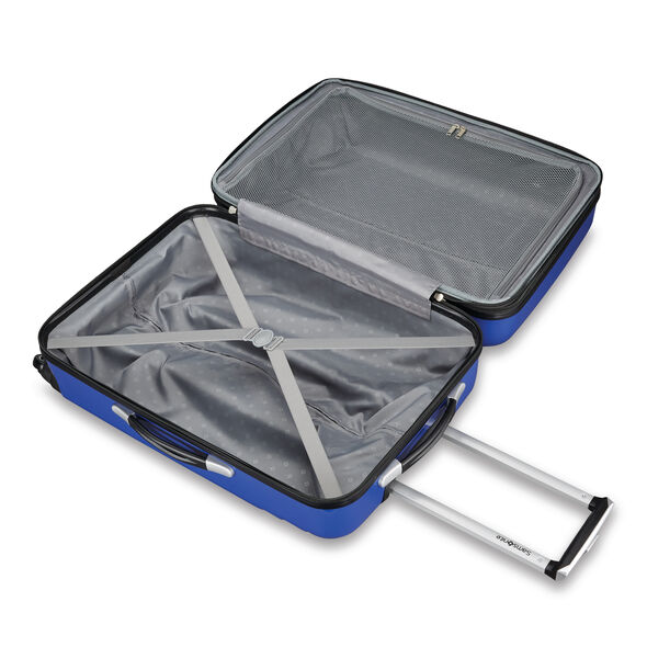 "Samsonite Sparta 19"" Spinner in the color Cobalt."