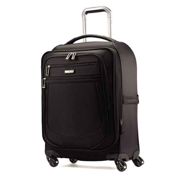 "Samsonite Mightlight 2 21"" Spinner in the color Black."