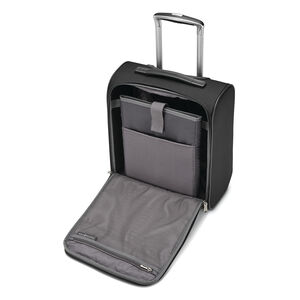 SoLyte DLX Underseat Wheeled Carry-On in the color Midnight Black.