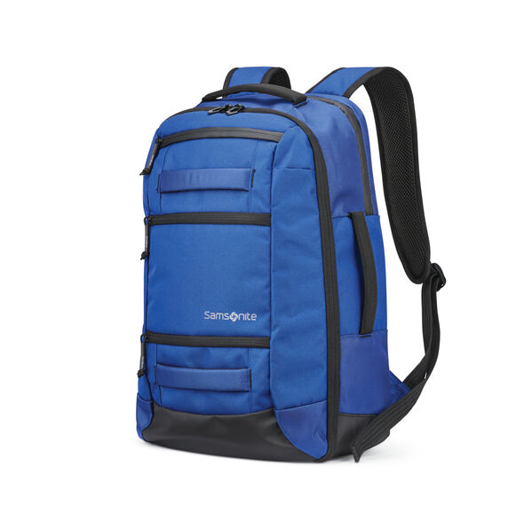 Samsonite Detour Travel Backpack in the color Cobalt Blue.