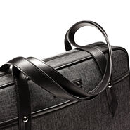 Samsonite Business Heathered Slim Brief in the color Grey.