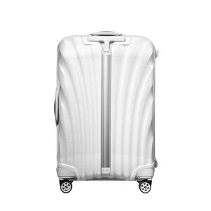 "Samsonite Black Label Lite-Locked Spinner Medium (25"") in the color Off White."