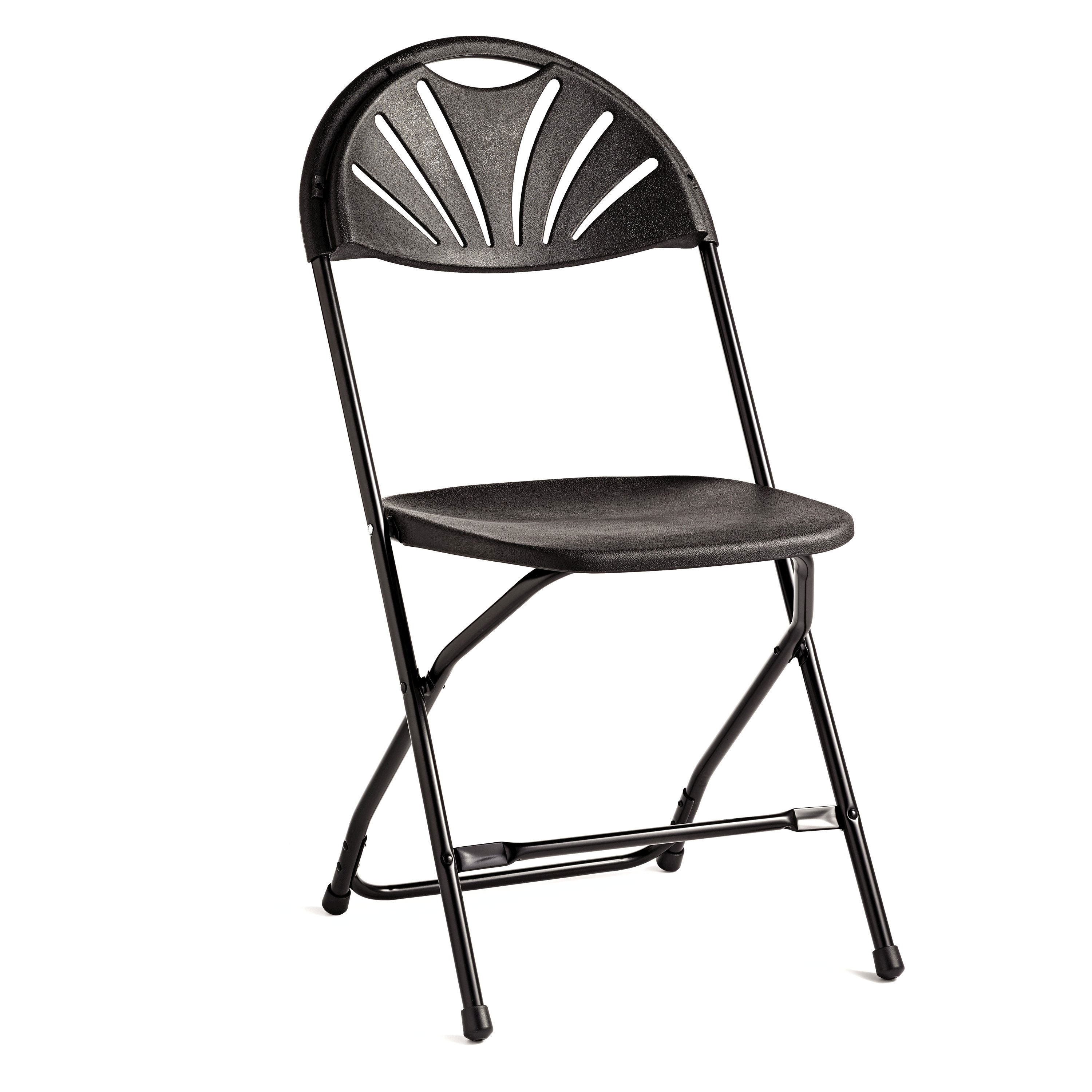 Samsonite 2000 Series Injection Mold Fanback Folding Chair (Case/10)
