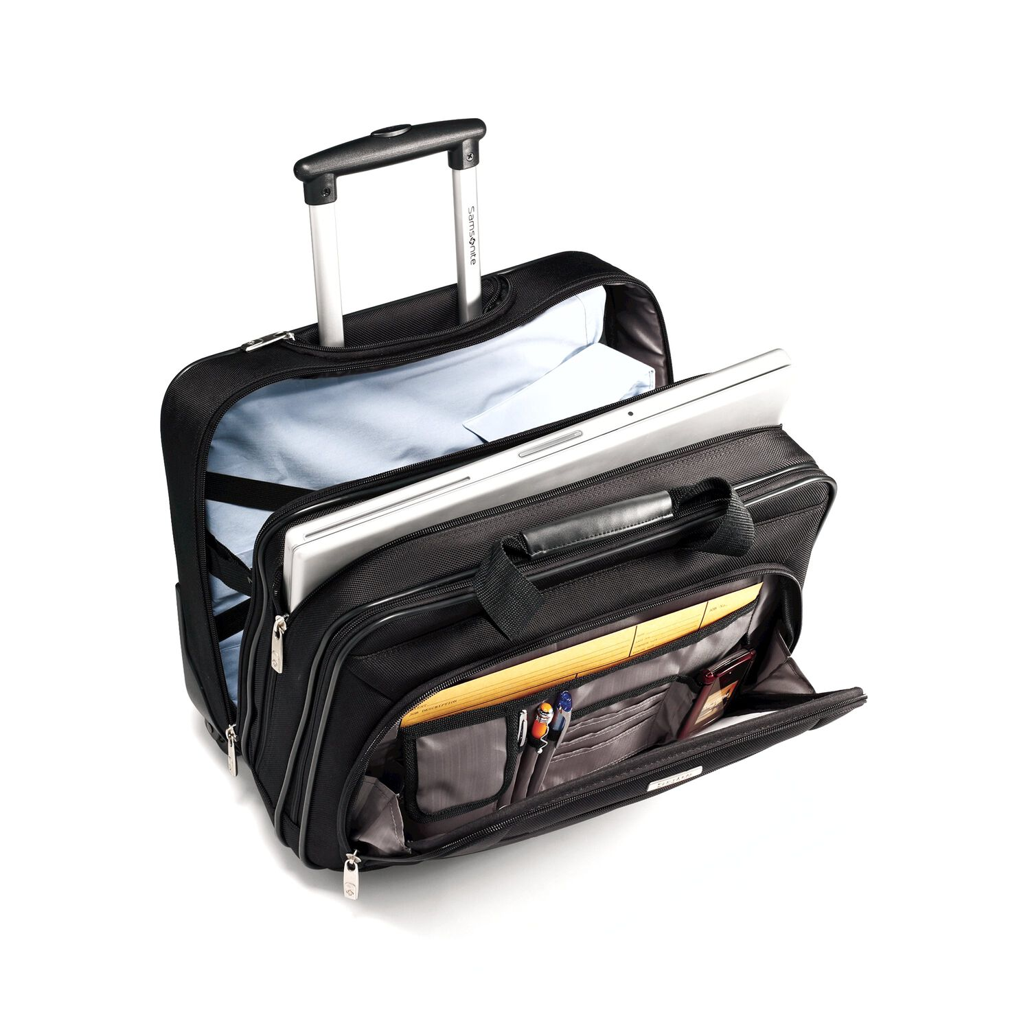 Samsonite Clic Business Wheeled Case In The Color Black