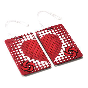 Samsonite Samsonite Designer ID Tags - Pair in the color True Love.