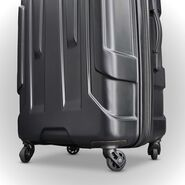 "Samsonite Centric 24"" Spinner in the color Black."
