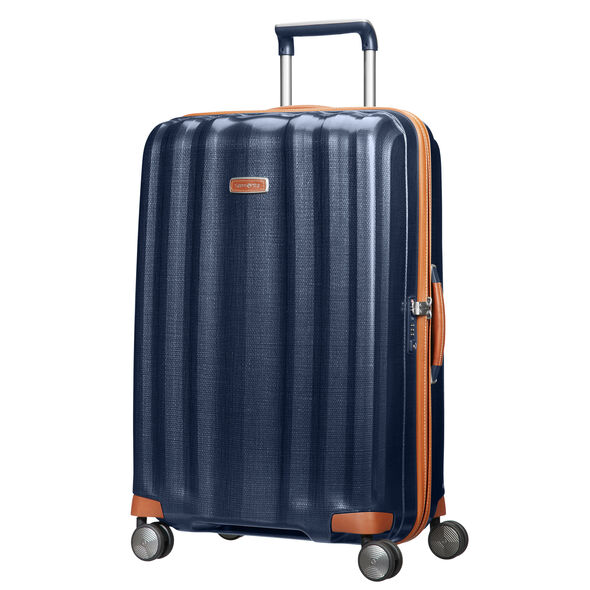 "Samsonite Black Label Lite-Cube DLX 28"" Spinner in the color Midnight Blue."