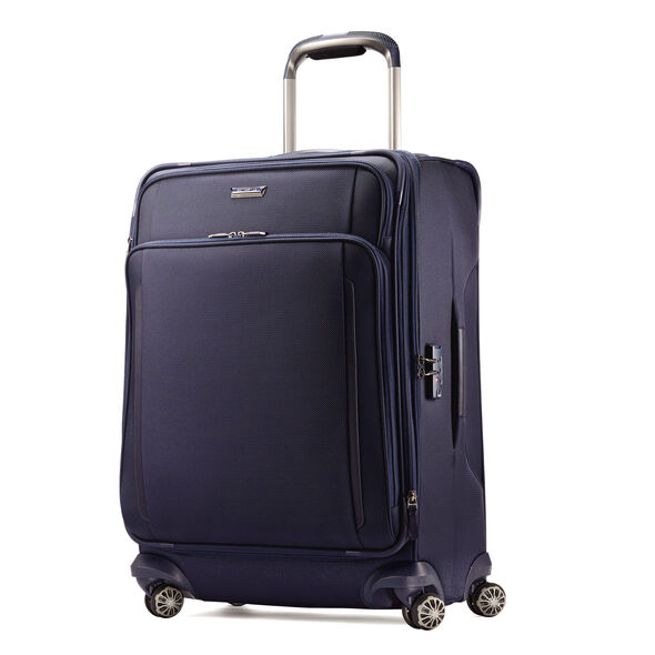 "Samsonite Silhouette XV 25"" Spinner in the color Twilight Blue."