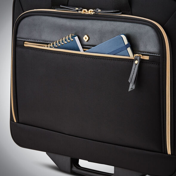Samsonite Mobile Solution Upright Wheeled Mobile Office in the color Black.