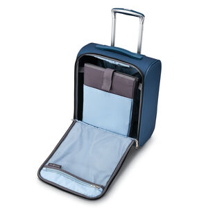 SoLyte DLX Underseat Wheeled Carry-On in the color Mediterranean Blue.