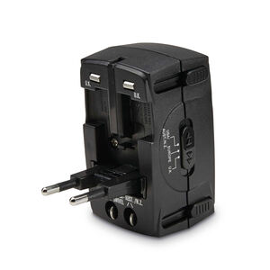 Global Adapter in the color Black.