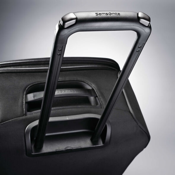 "Samsonite Flexis 30"" Spinner in the color Jet Black."