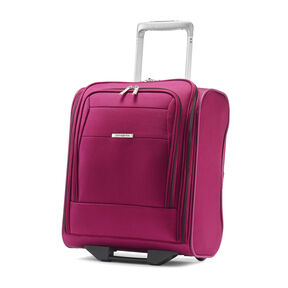 Samsonite Eco-Nu Wheeled Underseater Carry-On in the color Raspberry.