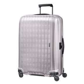 "Samsonite Chronolite 30"" Spinner in the color Pearl."
