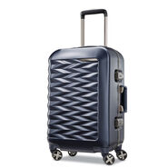 "Samsonite Fortifi 20"" Spinner in the color Dark Navy."