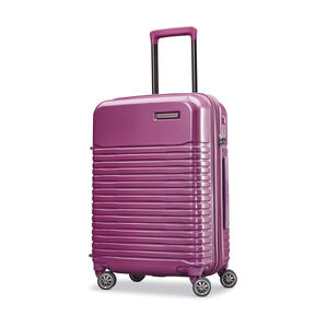"Samsonite Spettro 20"" Spinner in the color Purple."