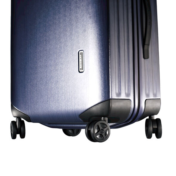 "Samsonite Inova 30"" Spinner in the color Indigo Blue."