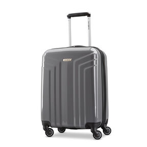 "Samsonite Sparta 19"" Spinner in the color Dark Grey."