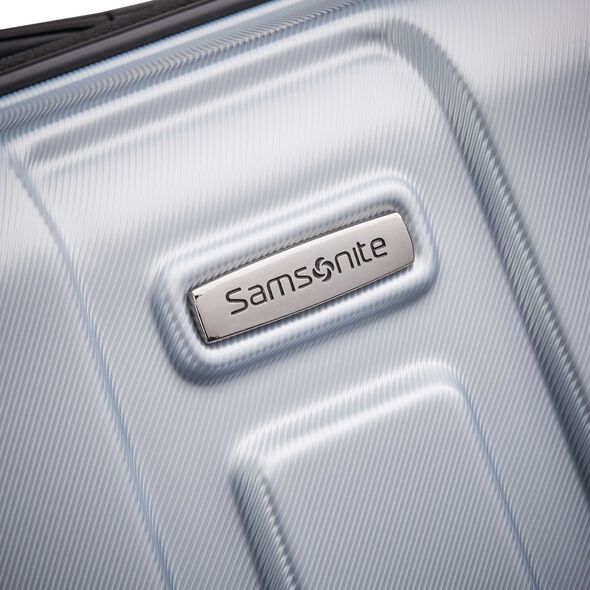 "Samsonite Centric 28"" Spinner in the color Silver."