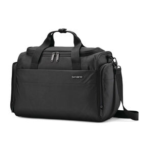 Samsonite Flexis Travel Duffel in the color Jet Black.
