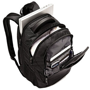 Classic Business Perfect Fit Backpack in the color Black.