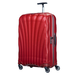 "Samsonite Black Label Cosmolite 3.0 28"" Spinner in the color Red."