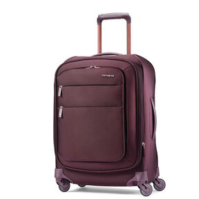 "Samsonite Flexis 21"" Spinner in the color Cordovan."