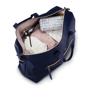Mobile Solution Classic Duffel in the color Navy Blue.