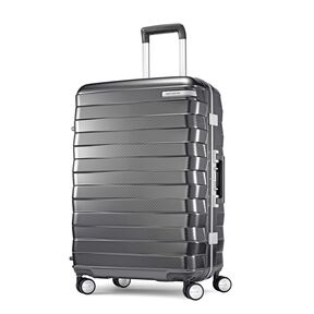 "Samsonite Framelock 25"" Spinner in the color Dark Grey."