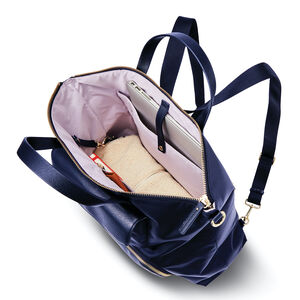 Encompass Womens Convertible Brief Backpack in the color Navy.