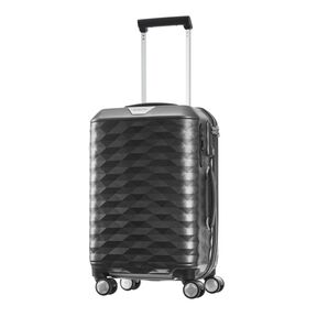 "Samsonite Polygon 20"" Spinner in the color Dark Grey."