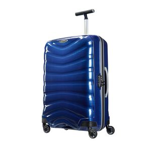 "Samsonite Firelite 25"" Spinner in the color Deep Blue."