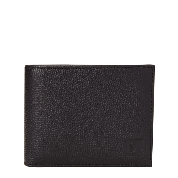 Samsonite Mens Leather 2 Compartment Wallet in the color Black.