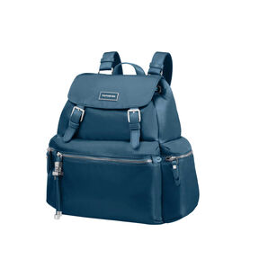 Samsonite Karissa Backpack 3 Pocket 2 Buckle in the color Night Blue.