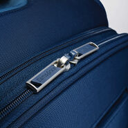 "Samsonite Flexis 25"" Spinner in the color Carbon Blue."