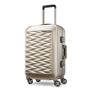 "Samsonite Fortifi 20"" Spinner in the color Dark Sand."