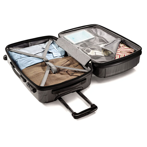 """Samsonite Winfield 2 Fashion 24"""" Spinner in the color Charcoal."""