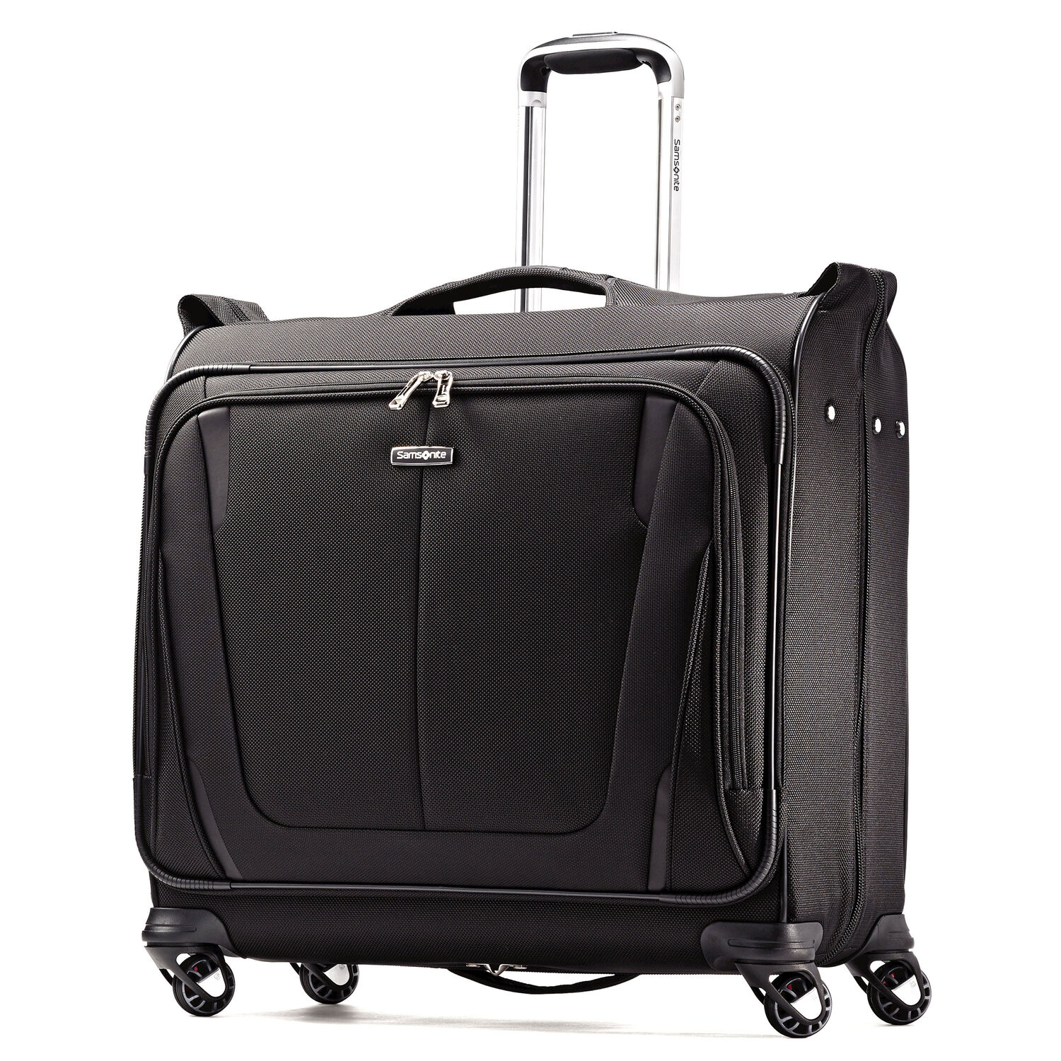 Samsonite Silhouette Sphere 2 Deluxe Voyager Garment Bag in the color Black. 6532cc3a7b419