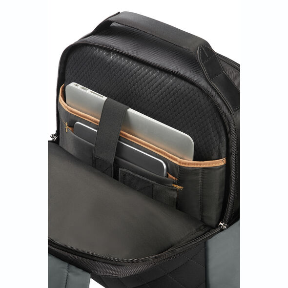 "Samsonite Openroad 15.6"" Laptop Backpack in the color Eclipse Grey."
