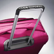 "Samsonite Eco-Nu 25"" Expandable Spinner in the color Raspberry."