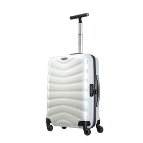 "Samsonite Firelite 20"" Spinner in the color Off White."