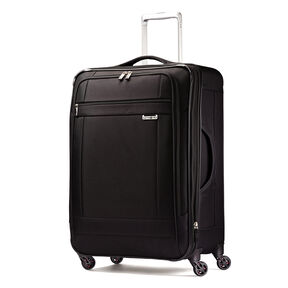 "Samsonite SoLyte 25"" Spinner in the color Black."