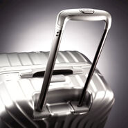 "Samsonite Tru-Frame Collection 28"" Spinner in the color Matte Silver."