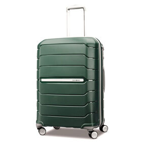 "Samsonite Freeform 24"" Spinner in the color Sage Green."