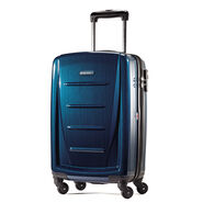 """Samsonite Winfield 2 Fashion 20"""" Spinner in the color Deep Blue."""